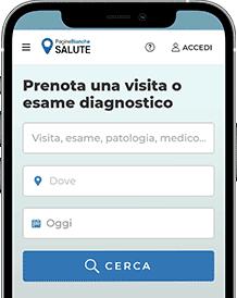 Prenota una visita o esame diagnostico